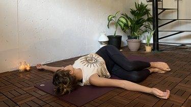 Move 12: Reclined Twist (Supta Matsyendrasna)
