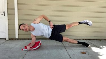 Move 3: Leg Raise From Side Plank