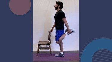 1. Classic Quad Stretch