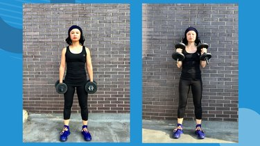 Move 2: Standing Hammer Curl