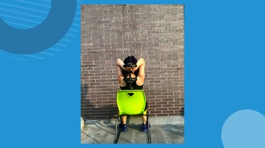 Move 4: Seated Two-Arm Dumbbell Overhead Extension
