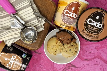 Cado Ice Cream avocado ice cream pints