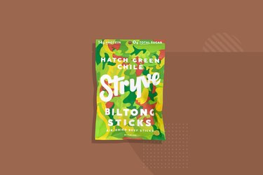 Stryve Hatch Green Chile Biltong Beef Sticks