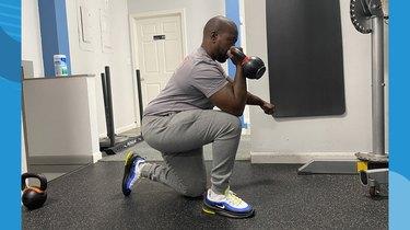 Move 2: Half-Kneeling Concentration Curl