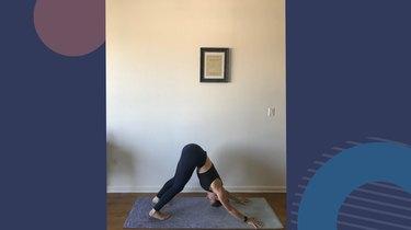 Move 8: Downward Facing Dog (Adho Mukha Svanasana)