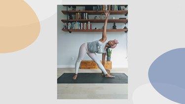 Move 6: Triangle Pose