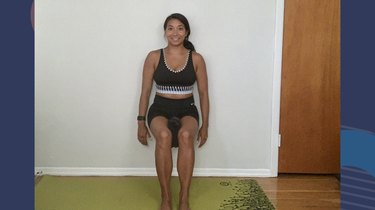 Move 2: Wall Sit With Adduction