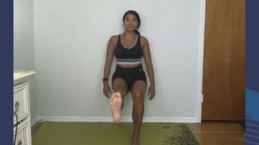 Move 1: Single-Leg Wall Sit