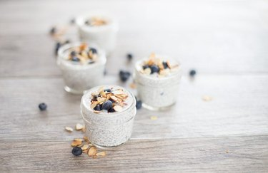 Chia pudding anti-inflammatory breakfast recipe.