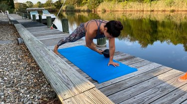 Move 4: Plank Pull-Through