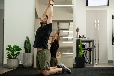 Move 1: Overhead Reach