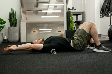 Move 5: Towel Stretch