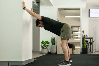 Move 3: Standing Lat Stretch
