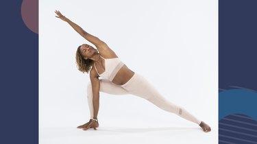 Move 8: Extended Side Angle (Utthita Parsvakonasana)