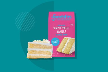 Foodstirs Simply Sweet Vanilla Cake Mix