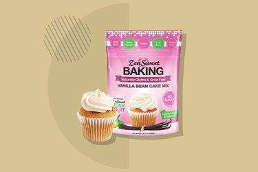 ZenSweet Vanilla Bean Cake Mix