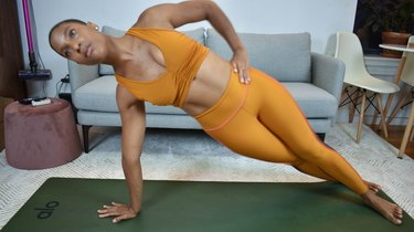 Move 12: Plank and Twist