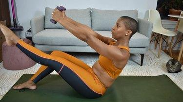 Move 15: Single-Leg Teaser