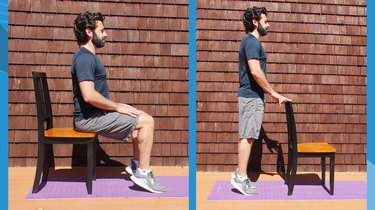 3. Standing and Seated Calf Raises