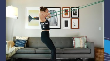Resistance Band Face Pull