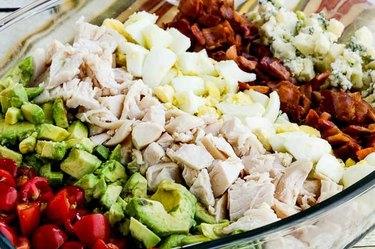 Lettuce-Free Keto Cobb Salad