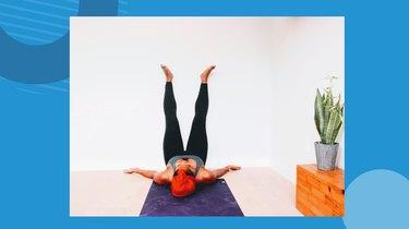 Move 8: Legs Up the Wall Pose (Viparita Karani)