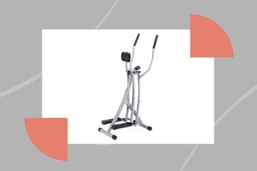 Sunny Health & Fitness SF-E902 Air Walk Trainer Elliptical