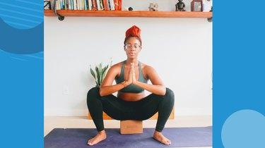 Move 5: Garland Pose (Malasana)