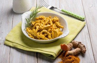 Spicy tumeric healthy chicken recipes