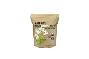 Bag of Anthony's Organic Buckwheat Groats