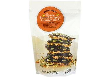 Trader Joe's organic Pumpkin Spice Granola Bark