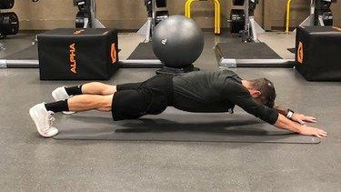 Move 3: Plank Walkout