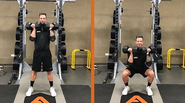 Move 1: Dumbbell Front Squat