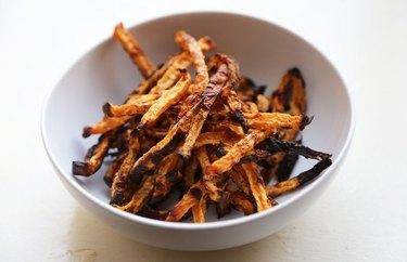 Roasted Rutabaga Fries homemade french fries