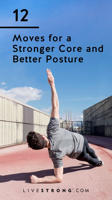Moves for a stronger core and better posture graphic