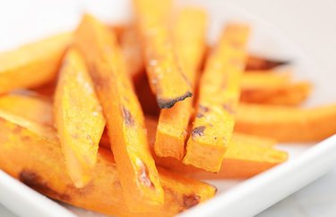 Simply Sweet Potato Fries gluten-free french fry recipe