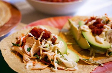 Turkey Tacos healthy meat dishes