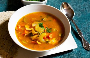 Turkey Pumpkin Soup low carb soup