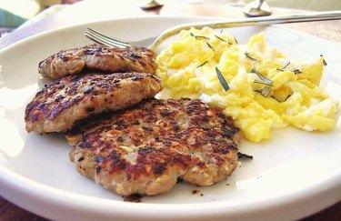 Chicken Breakfast Patties healthy meat dishes