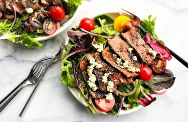 Steak salad recipe for keto diet