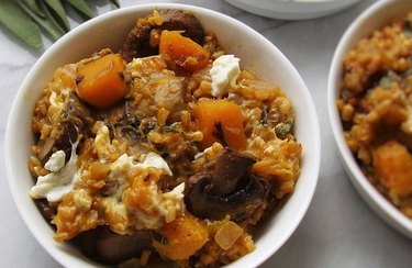 """Butternut Squash """"Risotto"""" with Sage broth-based recipes"""