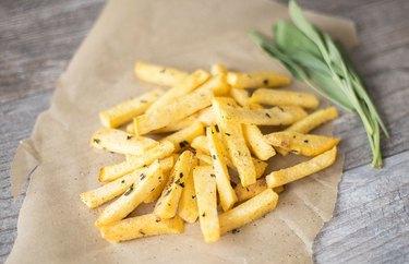 Rustic Rutabaga Fries recipe