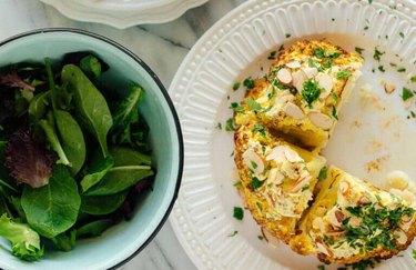 Turmeric-Spiced Whole Roasted Cauliflower recipe