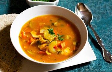 Turkey Pumpkin Soup recipe