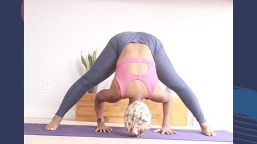 5. Wide-Angle Standing Forward Bend (Pradarita Padottanasana)