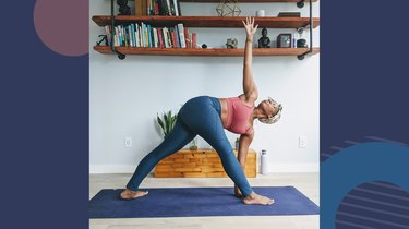 6. Revolved Triangle Pose (Parivrtta Trikonasana)