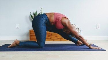 Move 5: Half Splits Pose (Ardha Hanumanasana)
