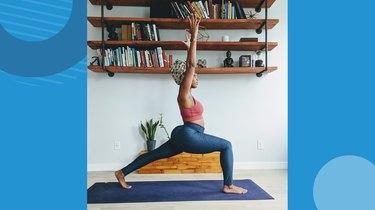 Move 3: High Lunge (Ashta Chandrasana)