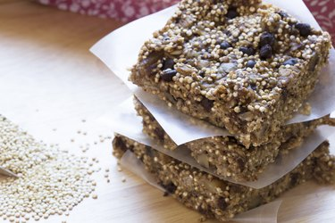 healthy quinoa dessert recipes Healthy Quinoa Bars
