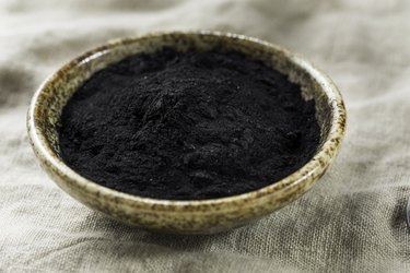 Raw Organic Black Activated Charcoal